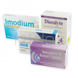 Travellers' Diarrhoea Pack 100mg x 4